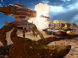KKnD Wallpaper Missile Crab