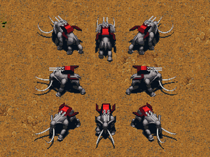 KKnD Ingame War Mastodon