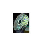Gemstone cutting wheel