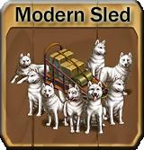 Modernsled