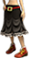 Clo-Black skirt