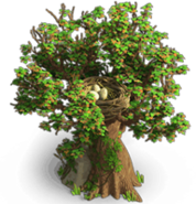 Oak with nest stage2