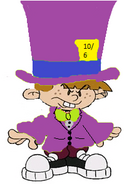 Numbuh 363 as The Mad Hatter (Jervis Tetch)