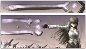 Number 1200 Key Sword 02K