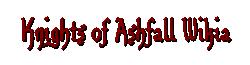 Knights of Ashfall Wiki