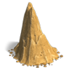 Res stones column sand 1