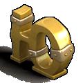 Letter cyrillic u