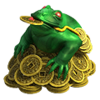 Malachite Toad