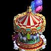 Christmas carrousel