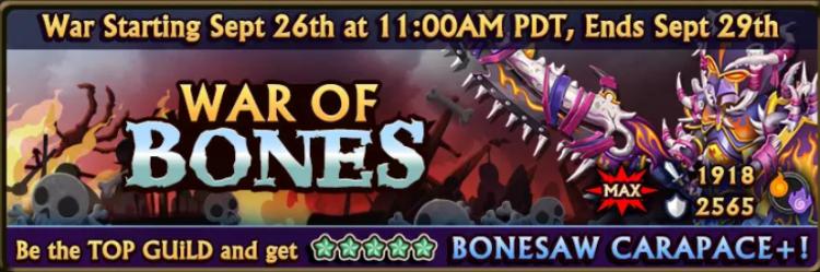 War of Bones Banner