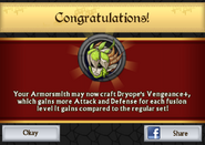 Dryope's Vengeance Plus Armor Unlock