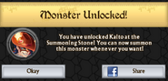 Kaito Monster Unlock