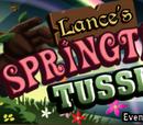 Lance's Springtime Tussle