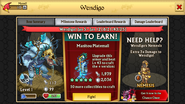 Wedigo Level 1 Stats