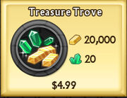 Treasure Trove updated