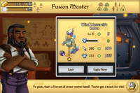 Wind monarchs robes fusion