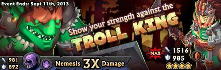 Troll King's Banner