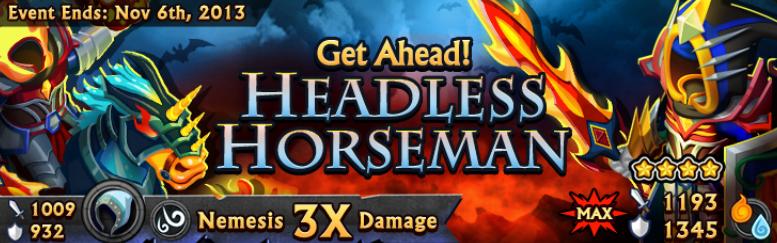 Headless Horesman Banner