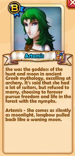 Artemis Text