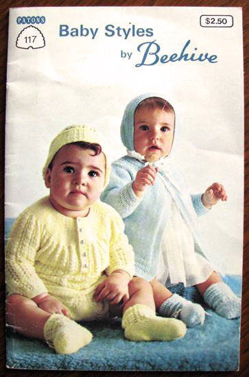 Patons Beehive No 117 Baby Styles Knitting And Crochet