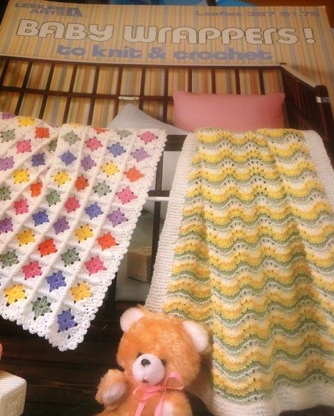 Free Crochet Pattern Leaflets : Leisure Arts 397 Baby Wrappers to Knit & Crochet ...