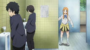 Wrong bathroom