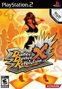 DanceDanceRevolution X cover art