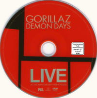 Gorillaz - Demon Days Live - DVD