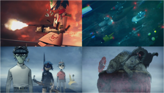Four scenes of On Melancholy Hill