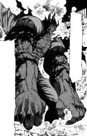 Akira entering Violence Mode