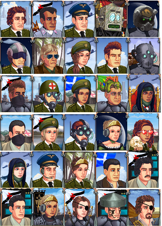 Battalion Arena Avatars 2