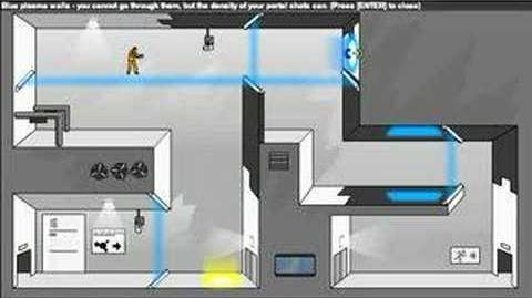 Portal- The Flash Version Walkthrough Levels 11-20