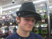 Rare footage of dong wearing a fedora