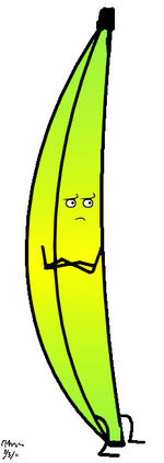 The wtf banana by oneburntwitch-d3azigw