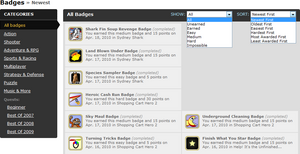 Badgespage