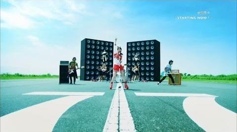 水樹奈々『STARTING NOW!』MUSIC CLIP(Short Ver