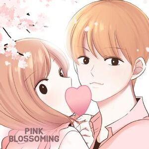 Pink blossoming