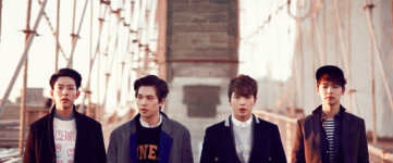 CNBLUE Can't Stop group promo photo