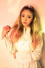 OH MY GIRL JinE Windy Day photo