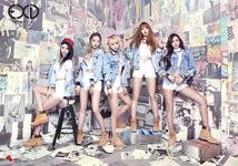 EXID Ah Yeah group teaser photo