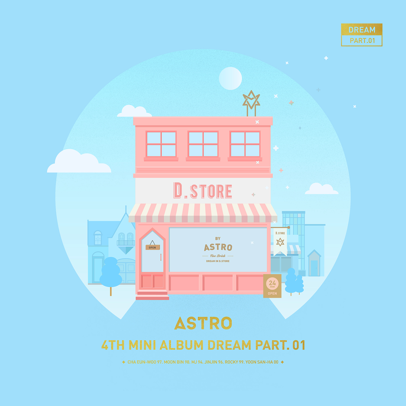 Image - ASTRO Dream Part.01 Day Ver Cover Art.png