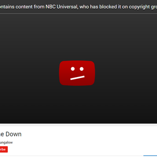 NBCUniversal taking down a Watership Down video, this just one example.