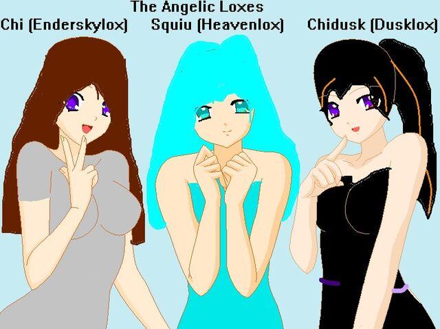 File:The Three Angelic Deadloxes Chi (Enderskylox), Squiu (Heavenlox) and Chidusk (Dusklox).jpg