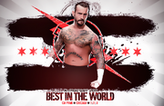 Cm punk best in the world by x mac34070-d40zvml