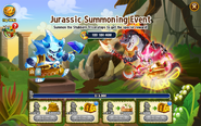 Jurassic Period Summoning Event