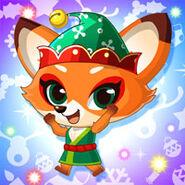 Animal Fox Christmas