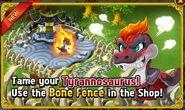 New Bone Fence - Fury Tyrannosaurus