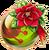 PoinsettiaDeerKFBall