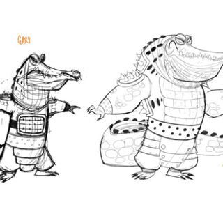 Concept illustrations of Gahri and Fung