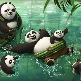 Grandma Panda with <a href=